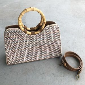Fossil Multi-Color Woven Convertible Statchel